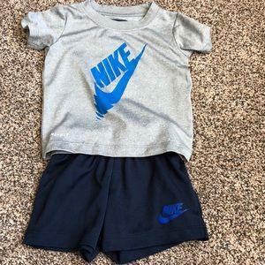 Other - Nike boys 12 mo short set